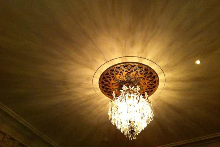Sean McGrath chandelier photo