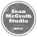 Sean McGrath Studio round logo